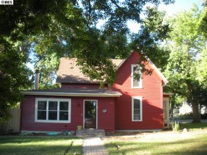 Charming farm house in Old Town Longmont, situated on a large corner lot